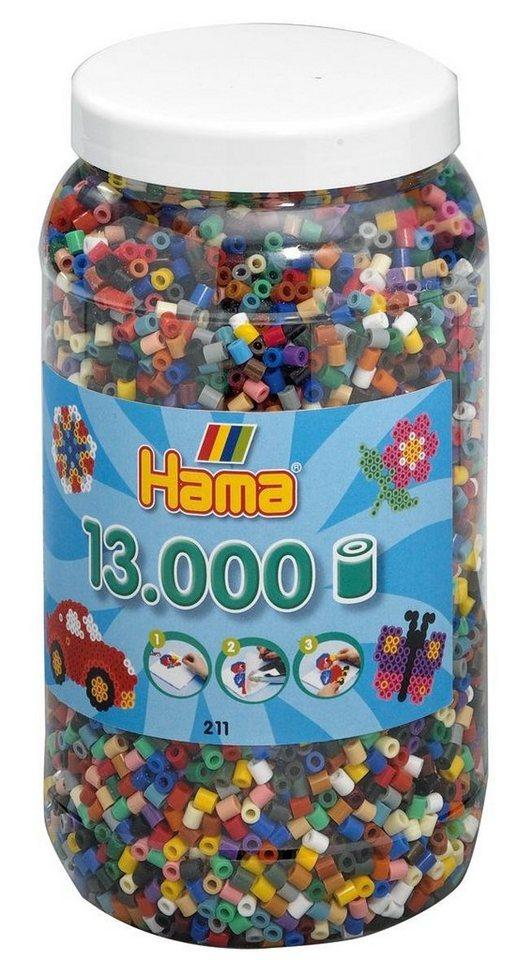 Hama Bügelperlen box mit 13.000 Perlen