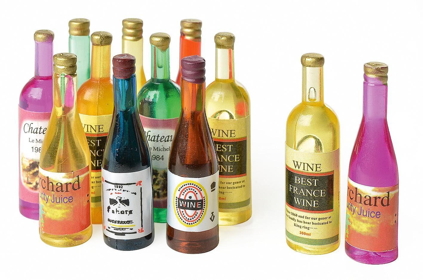 Mini-Flaschen, 12 Stück