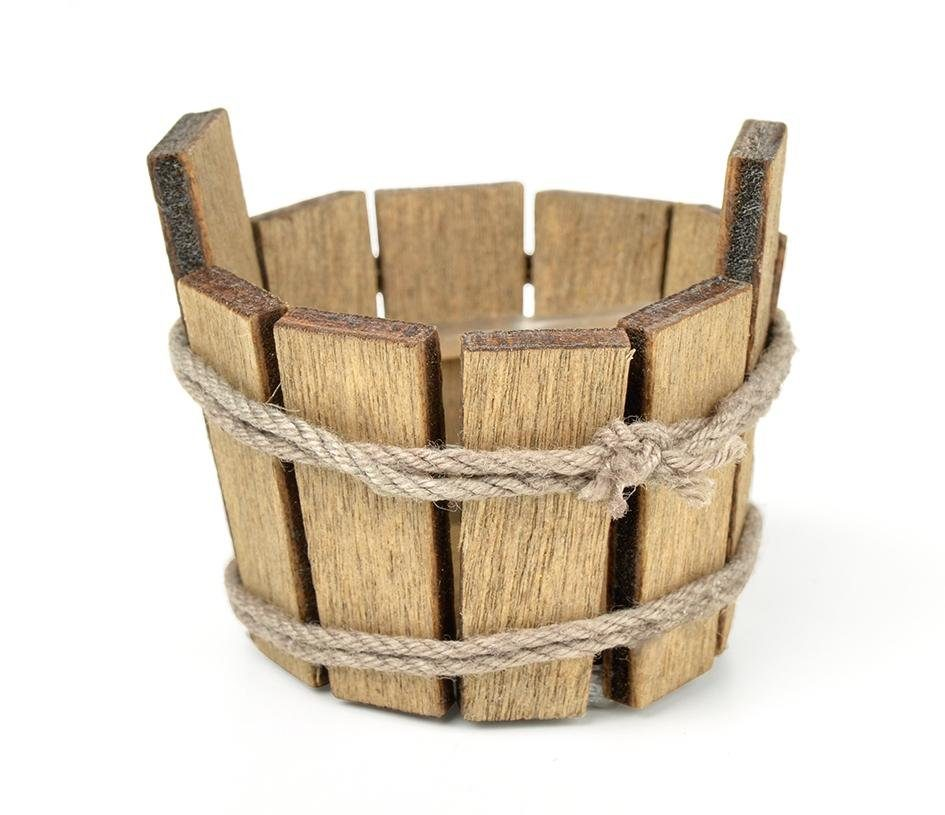 Mini-Holzbottich