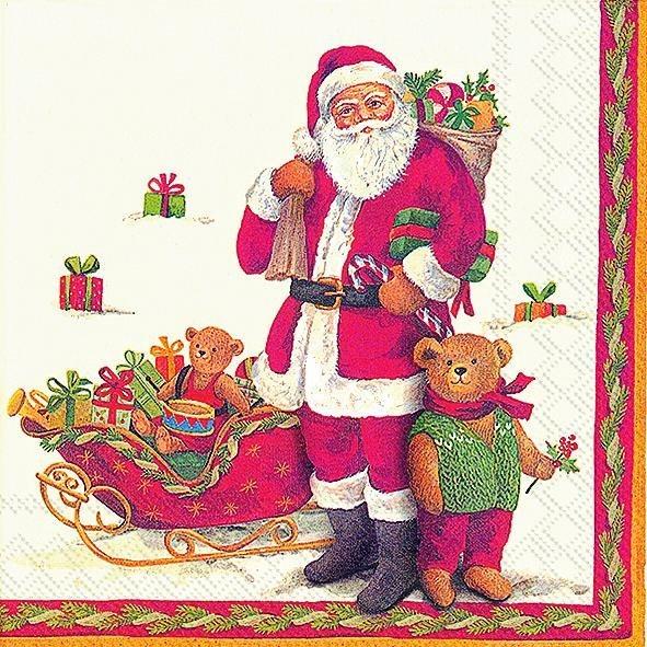 """Serviette """"Weihnachtsnostalgie"""""""