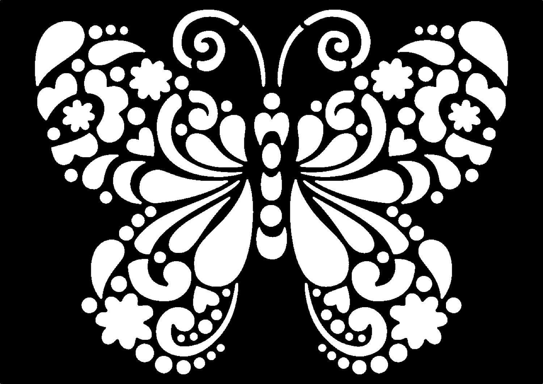 "Schablone ""Butterfly"""