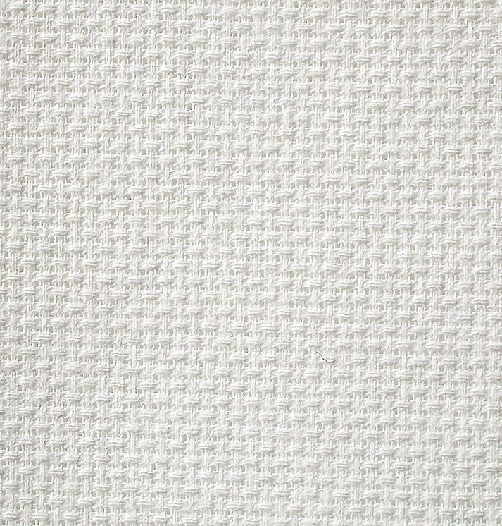 Zweigart Meterware Stern-Aida, 150cm, weiß