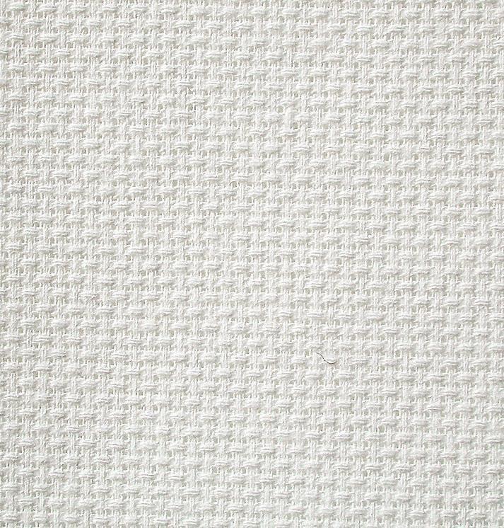 Zweigart Stern-Aida, weiß, 110 cm breit, Meterware
