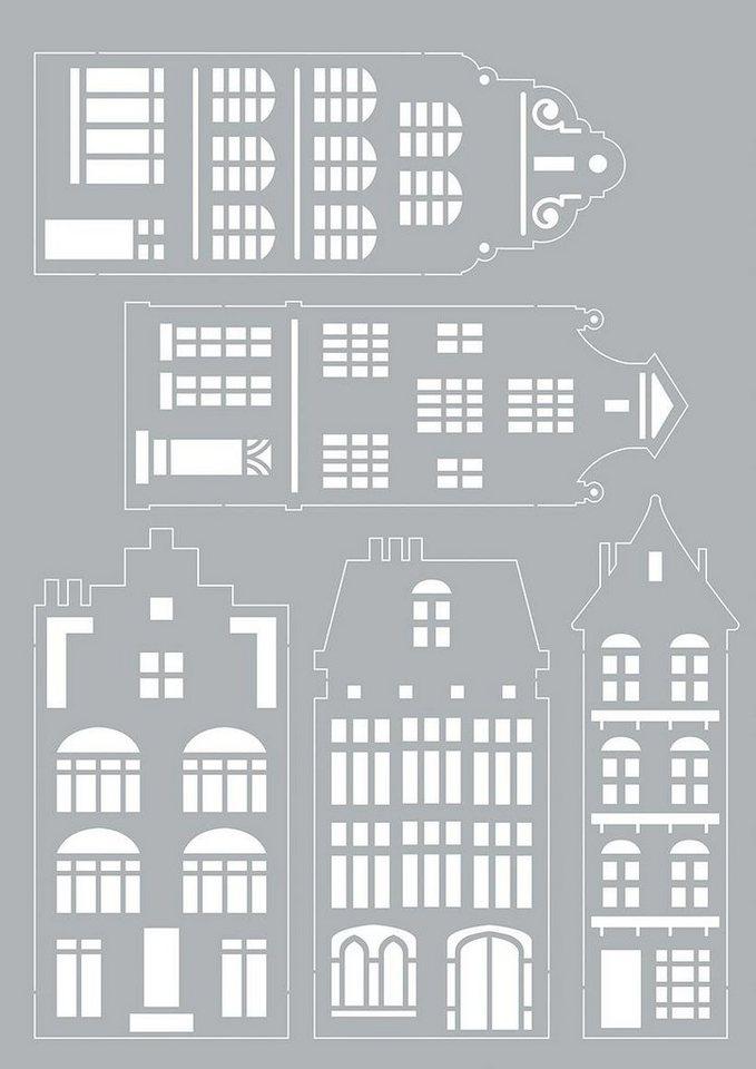 "Schablone ""Dutch House"""