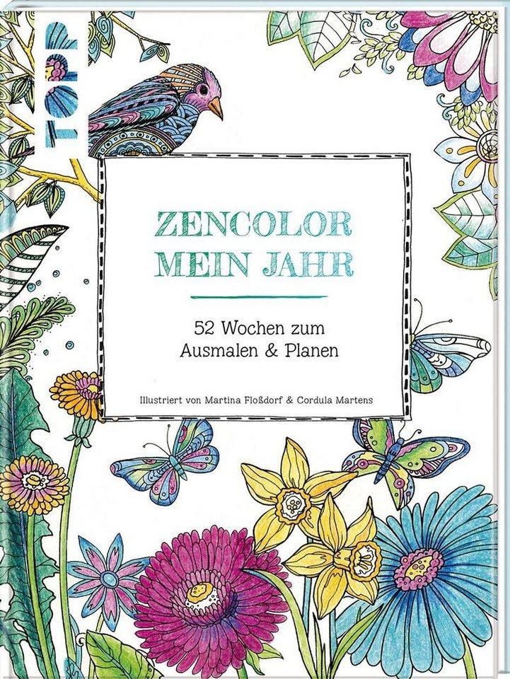 """Topp Buch """"Zencolor Mein Jahr"""""""