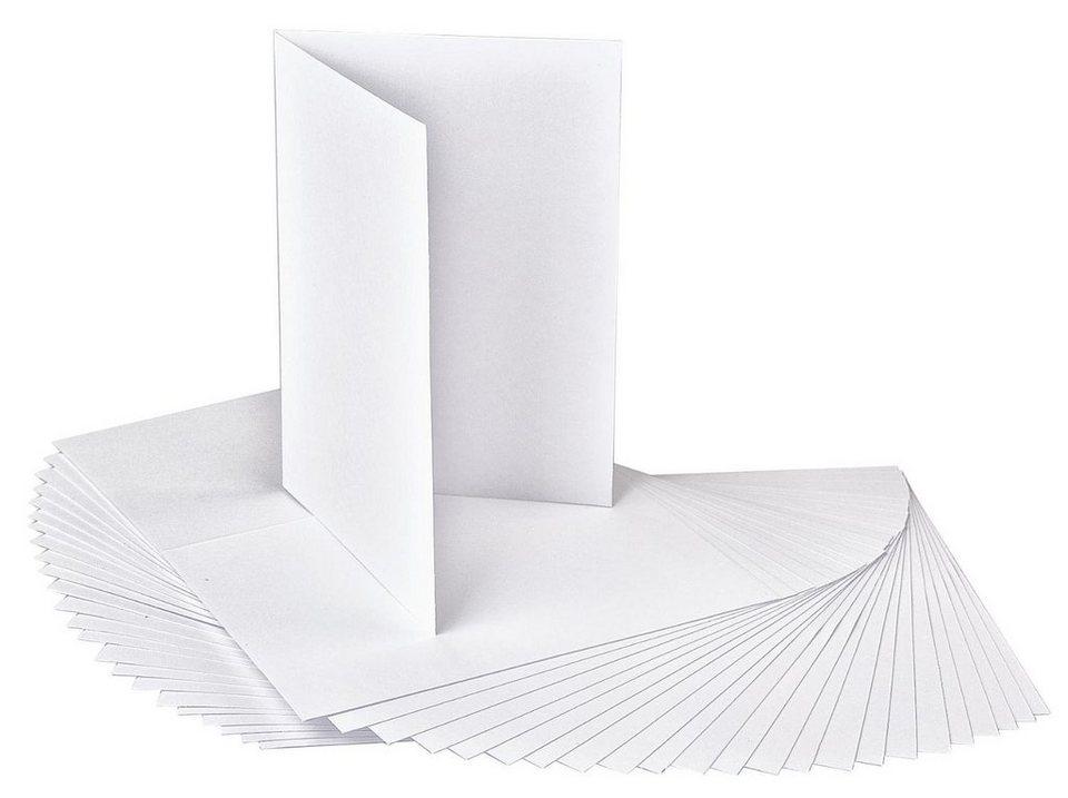 VBS Doppelkarten, DIN A6, Hochformat, 25 Stück