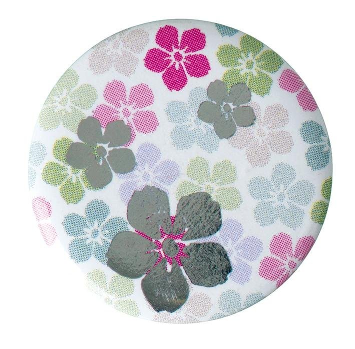 "Button ""Blumenmuster"""