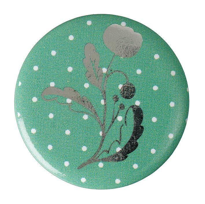 """Button """"Blume mit Stiel"""""""