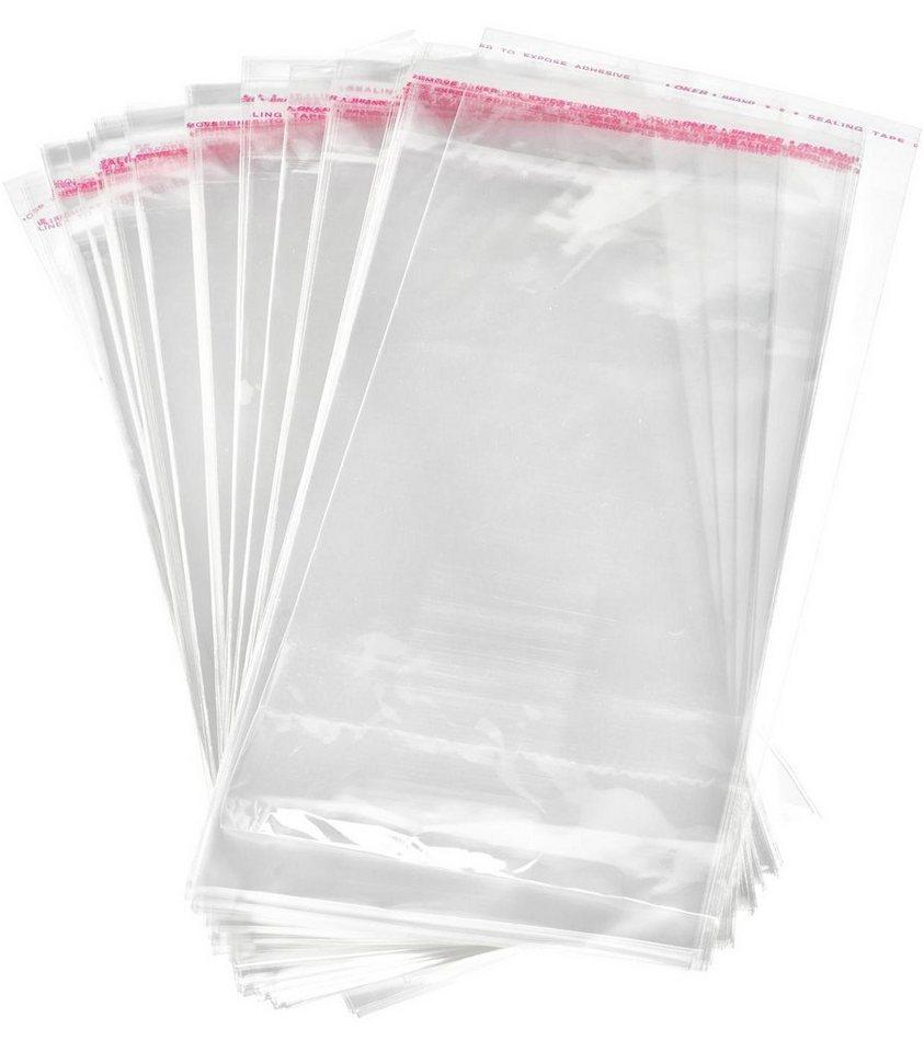 VBS 100 Schutzhüllen für Karten, 22,7x11,6 cm