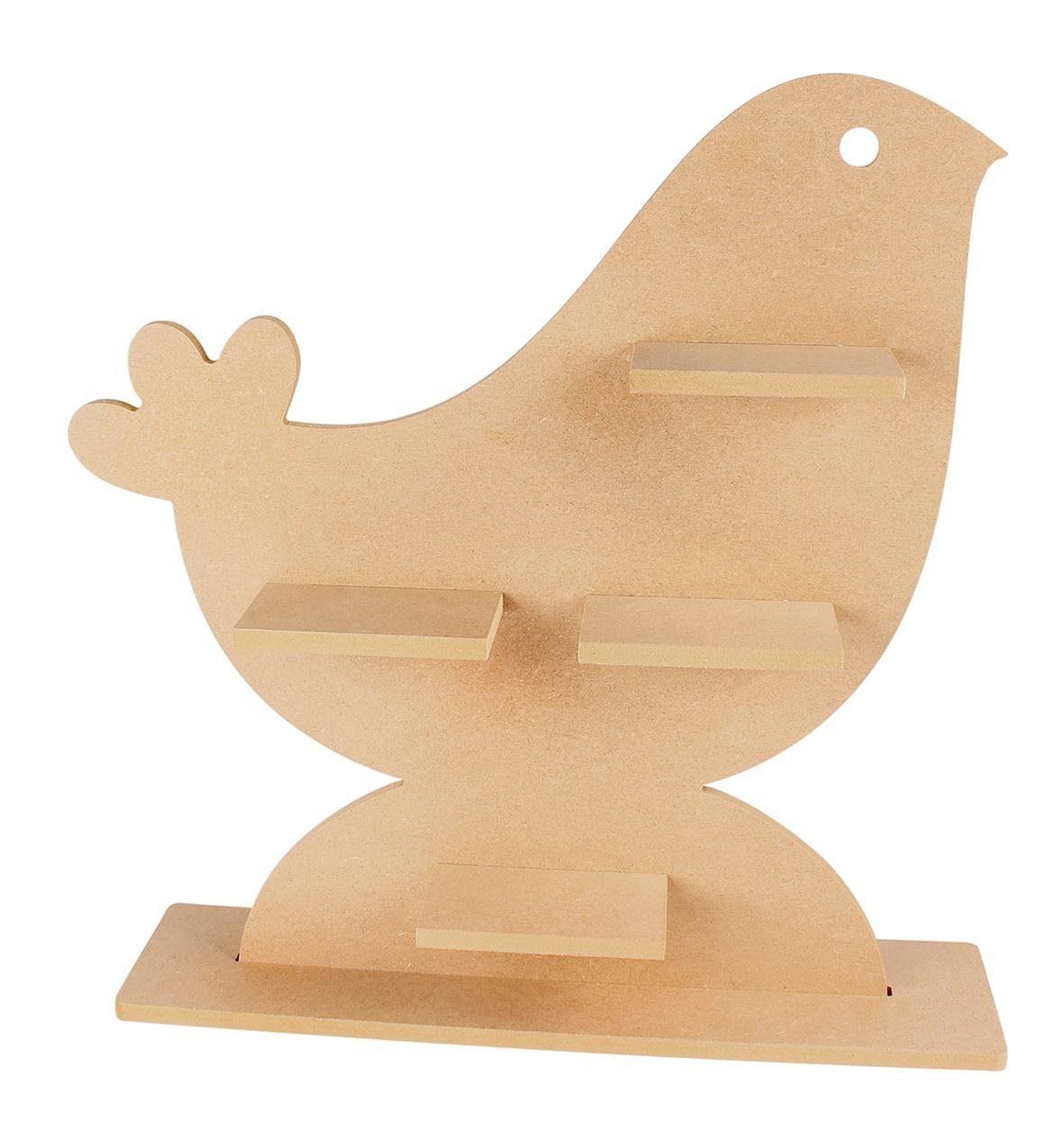 """3D Deko-Regalboard """"Vogel"""""""