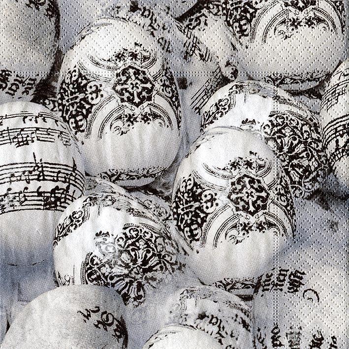 "Serviette ""Musical Eggs"""