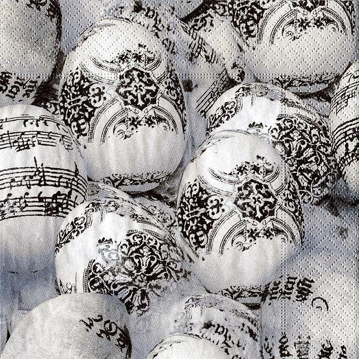 "Serviette ""Musical Eggs"""