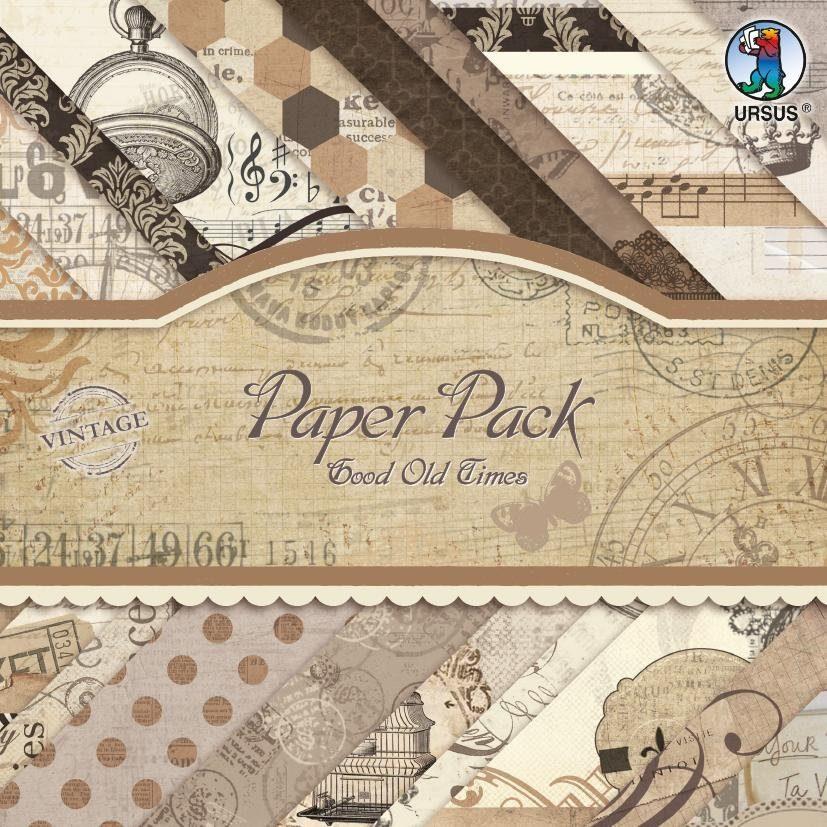 "URSUS Papierblock ""Good Old Times"""