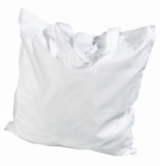 Baumwolltasche, Weiß