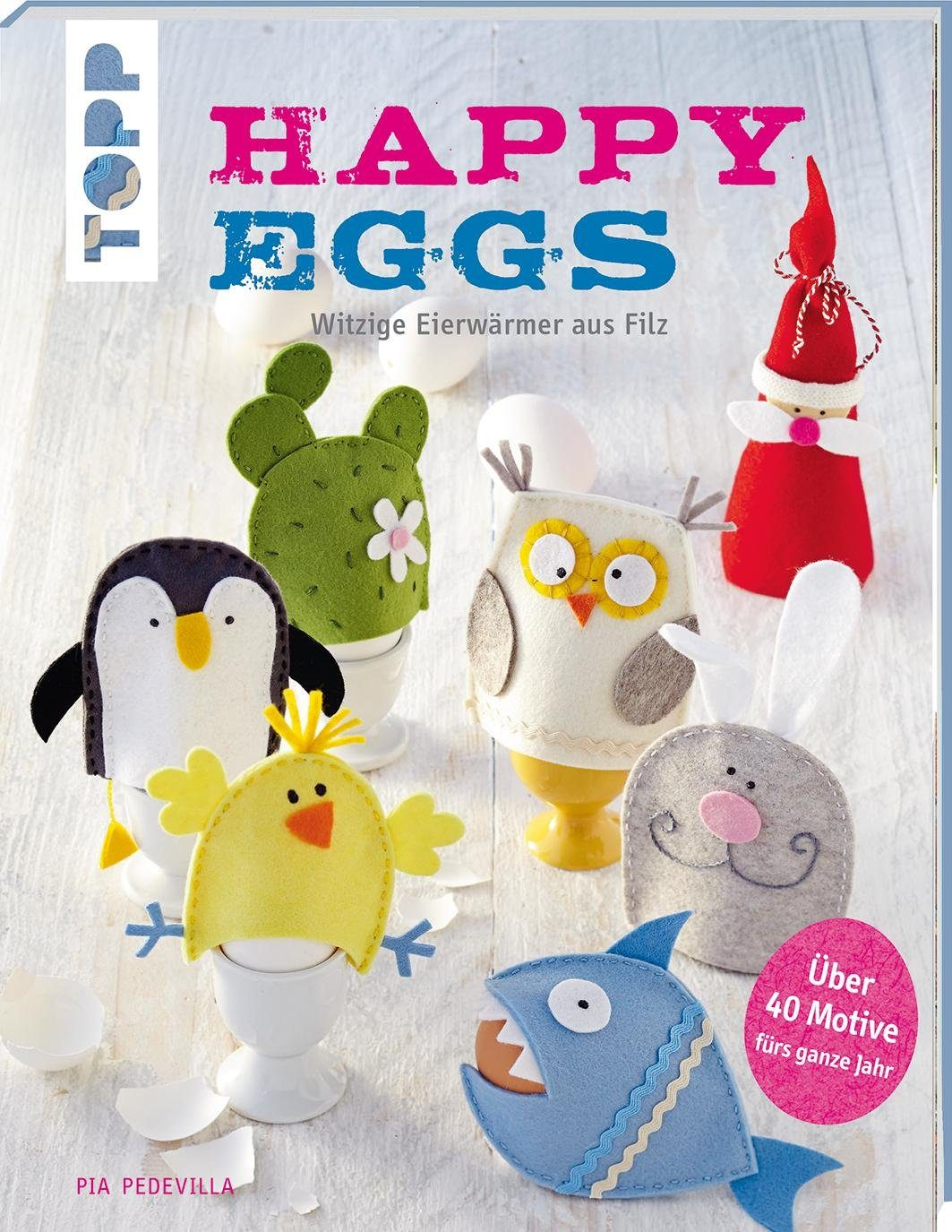 "Topp Buch ""Happy Eggs"""