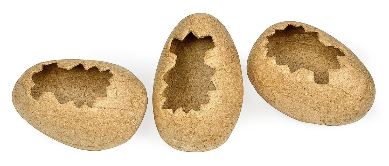 Eierschalen, liegend