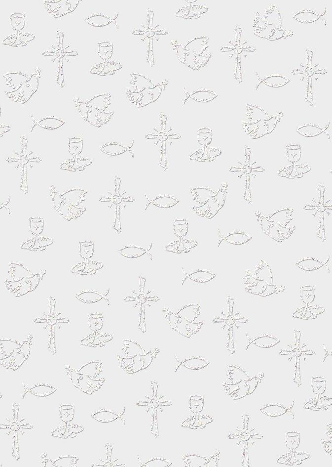 "Ursus Transparentpapier ""White Line Glitter"""