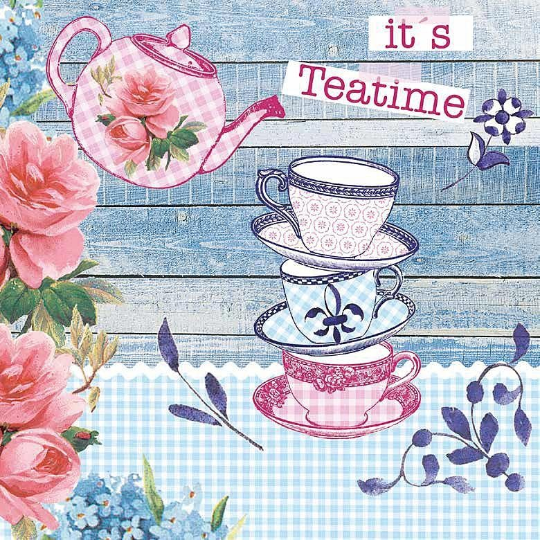 "Serviette ""It´s Teatime"""