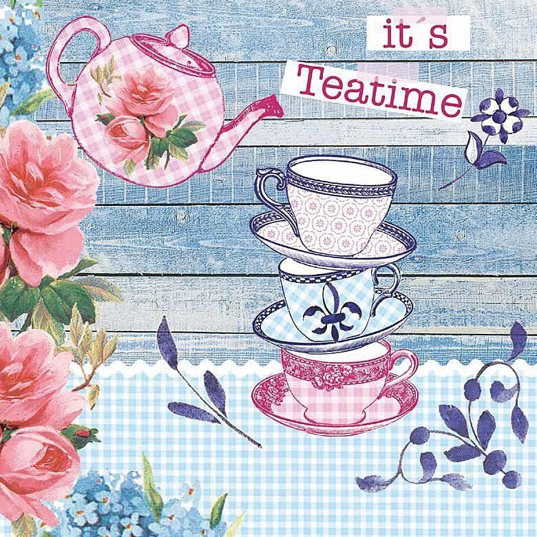 "Serviette ""It´s Teatime"""