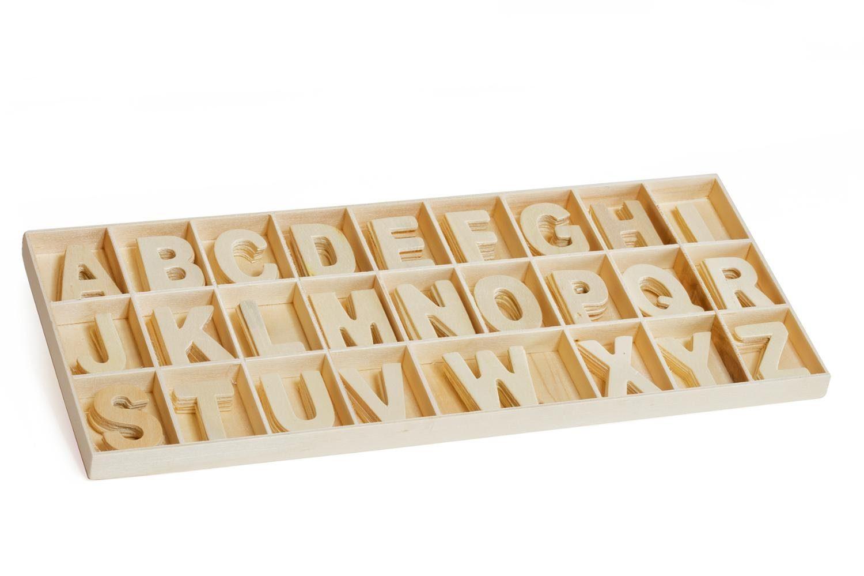 VBS Holz-Buchstabensortiment, 130-tlg.
