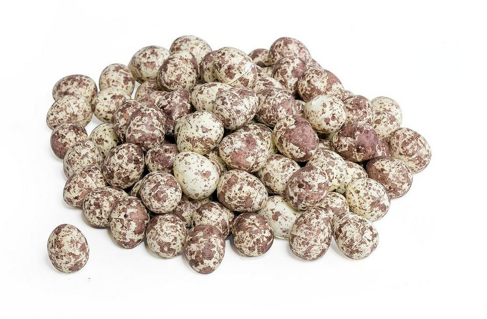 VBS Großhandelspackung 100 Deko-Eier, gesprenkelt