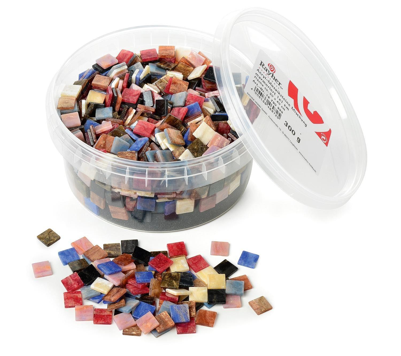 """Acryl-Mosaiksteine """"Marmoriert"""", 300g"""
