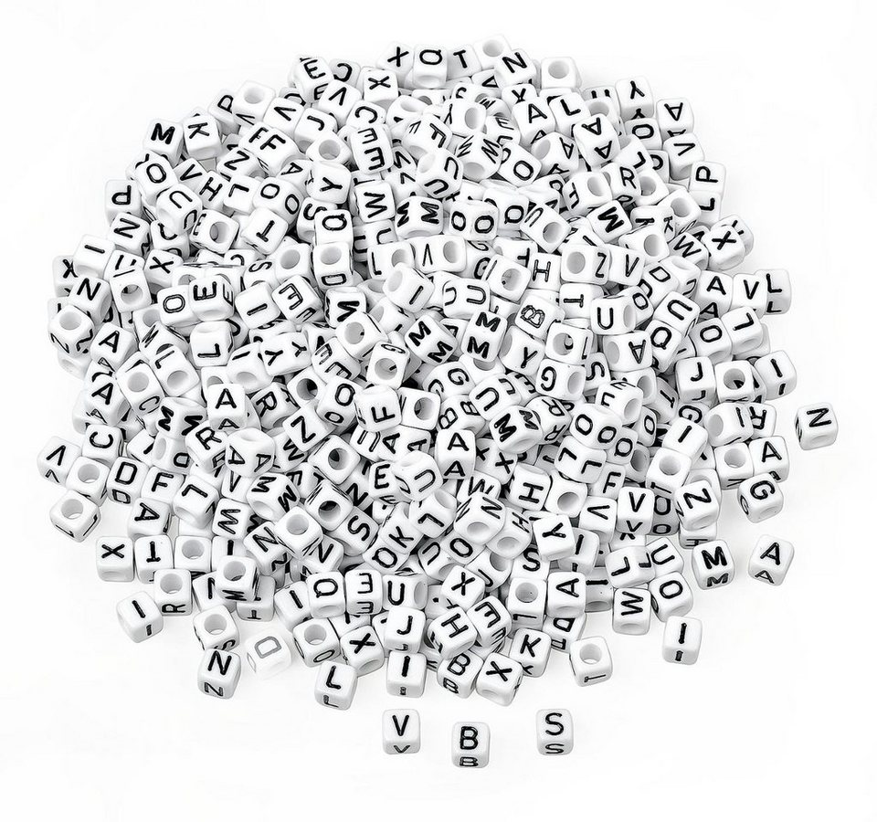 VBS Großhandelspackung 175 g Buchstabenperlen