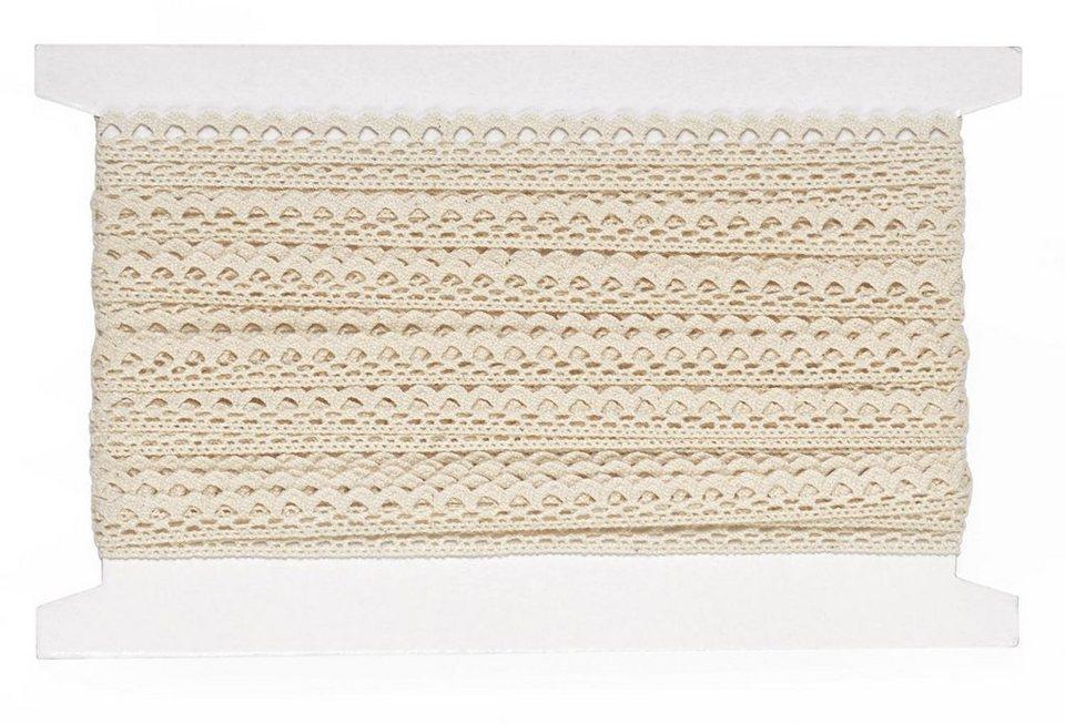 VBS Großhandelspackung 10 m Häkelband, 10 mm