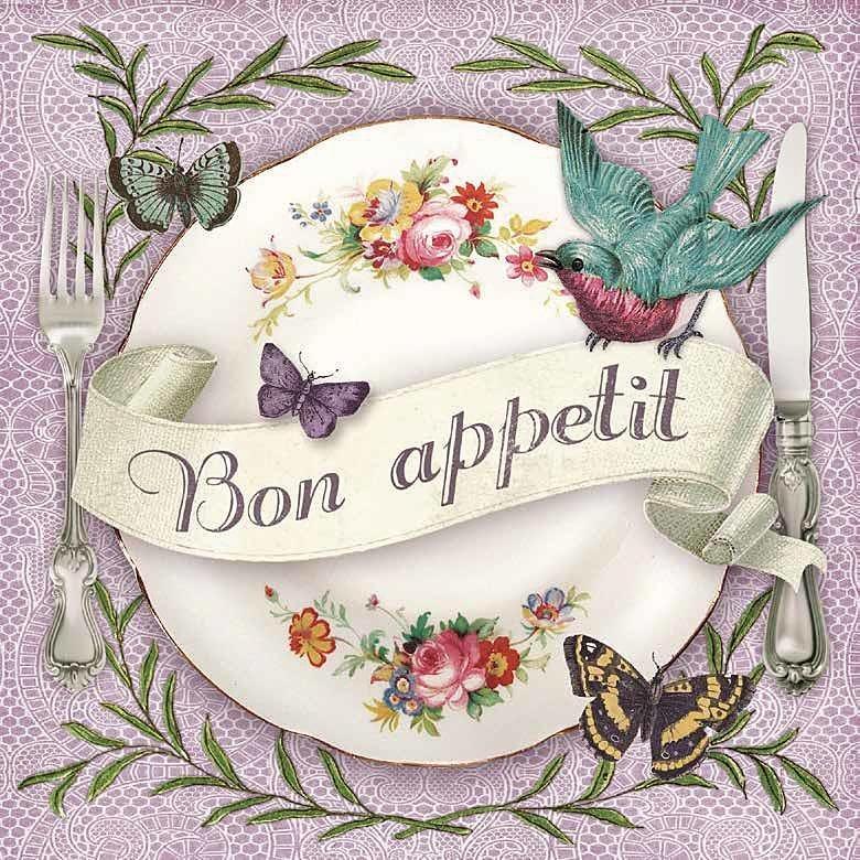 """Serviette """"Bon Appetit"""""""