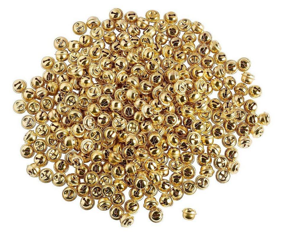 VBS Großhandelspackung 300 Schellen, gold