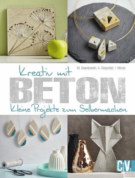 """Buch """"Kreativ mit Beton"""""""