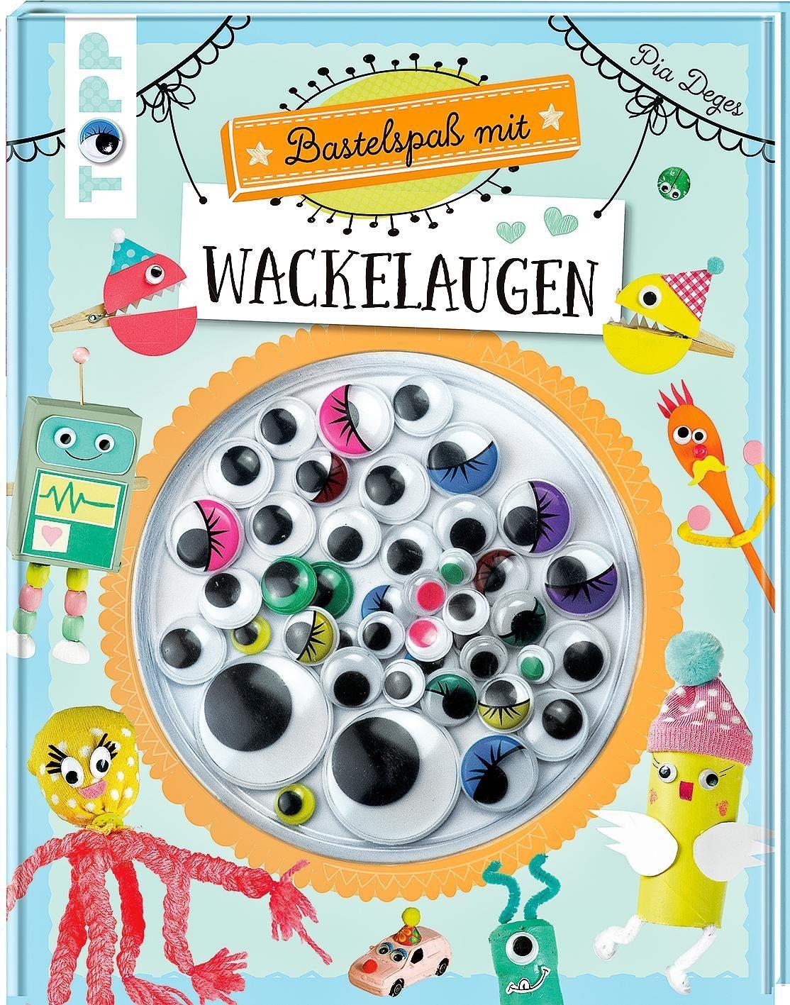 """Topp Buch """"Bastelspaß mit Wackelaugen"""""""