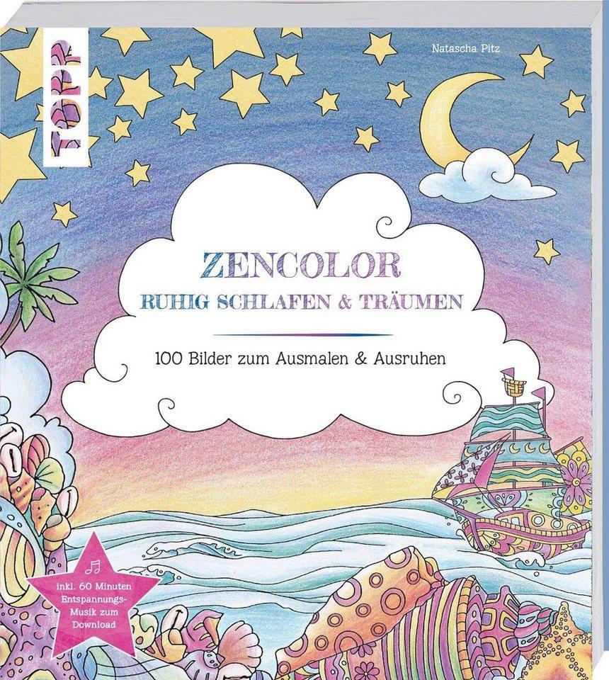 """Topp Buch """"Zencolor - Ruhig schlafen & träumen"""""""