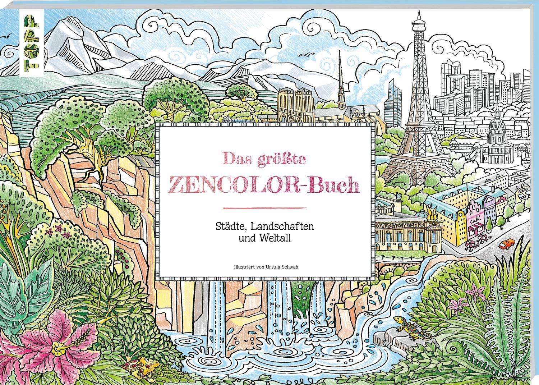 """Topp Buch """"Das größte Zencolor Buch"""""""