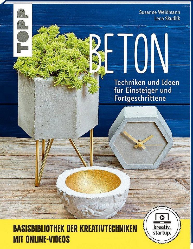 """Topp Buch """"Beton Techniken und Ideen für Einsteiger und Fortge."""""""