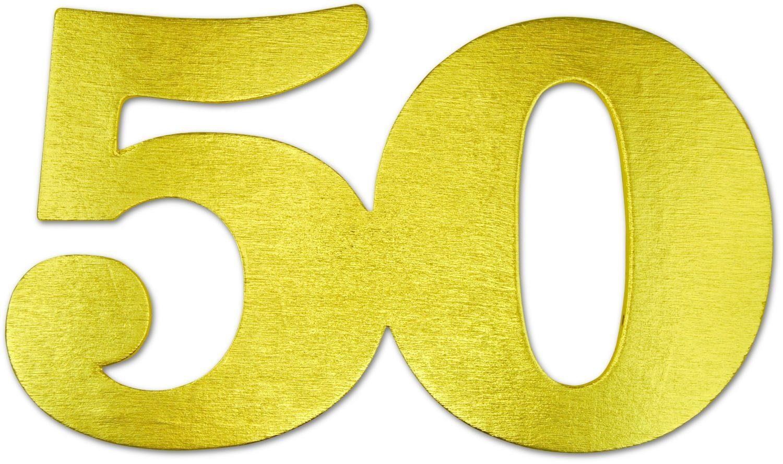 "Jubiläumszahl ""50"""