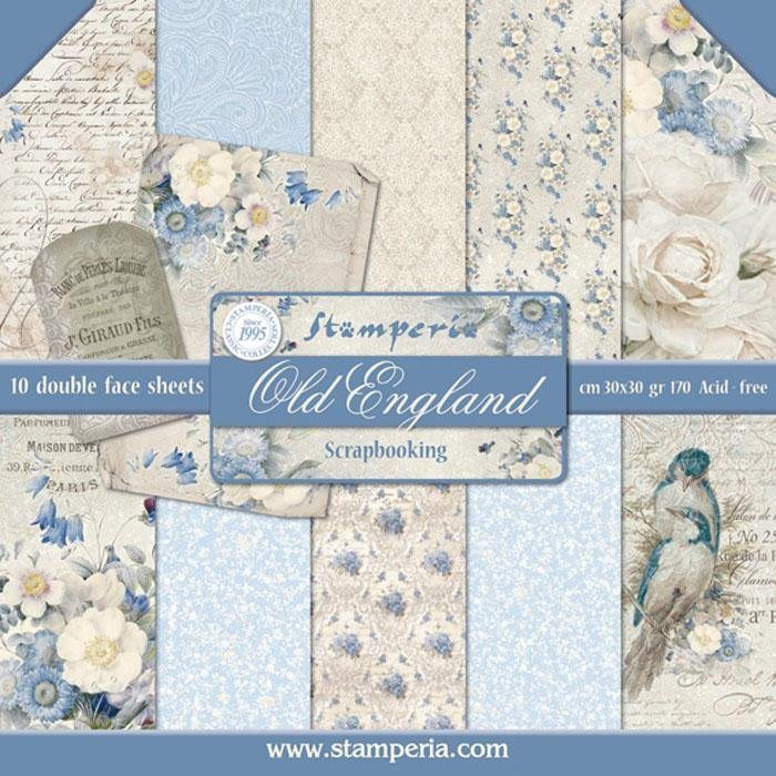 "Stamperia Scrapbook-Block ""Old England"""