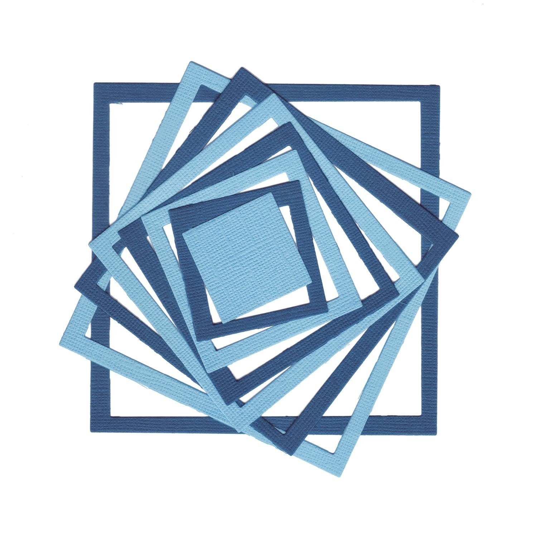 "Sizzix Framelits Stanzschablone ""Quadrat"" 8 Stück"