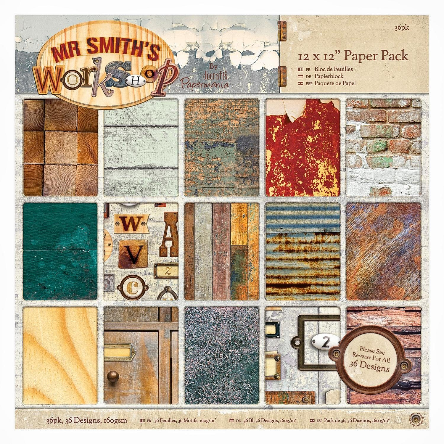 "Scrapbook-Block ""Workshop"""