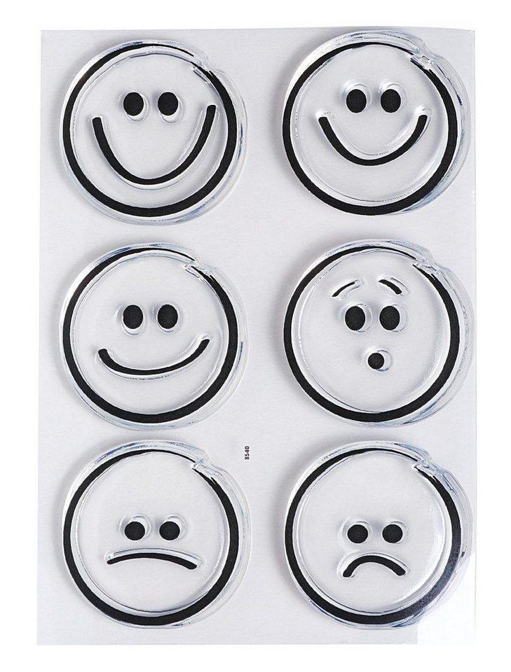 "Clear Stempel-Set ""Smileys"""