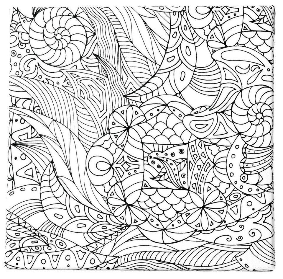 """Tangle Rahmen """"Blumen"""", 3er-Set"""