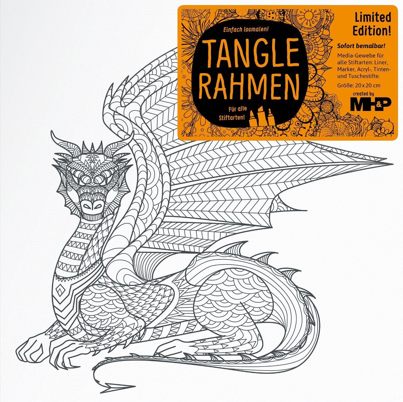 "Tangle Rahmen ""Drachen"""