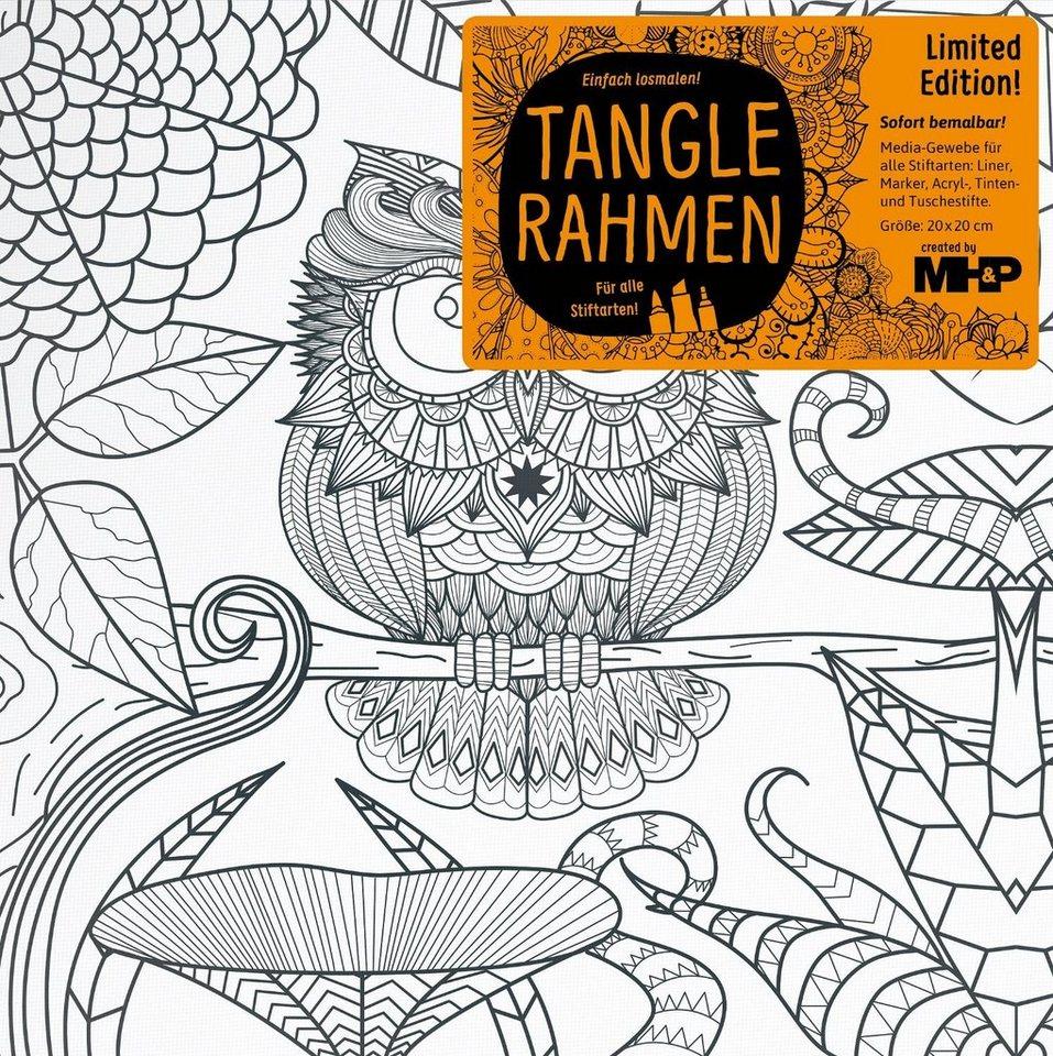 "Tangle Rahmen ""Frau Uhu"""