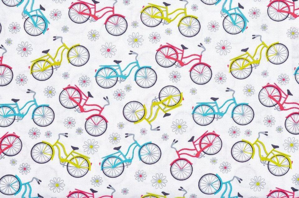"""Benartex Meterware """"Sunday Ride Fahrräder"""""""