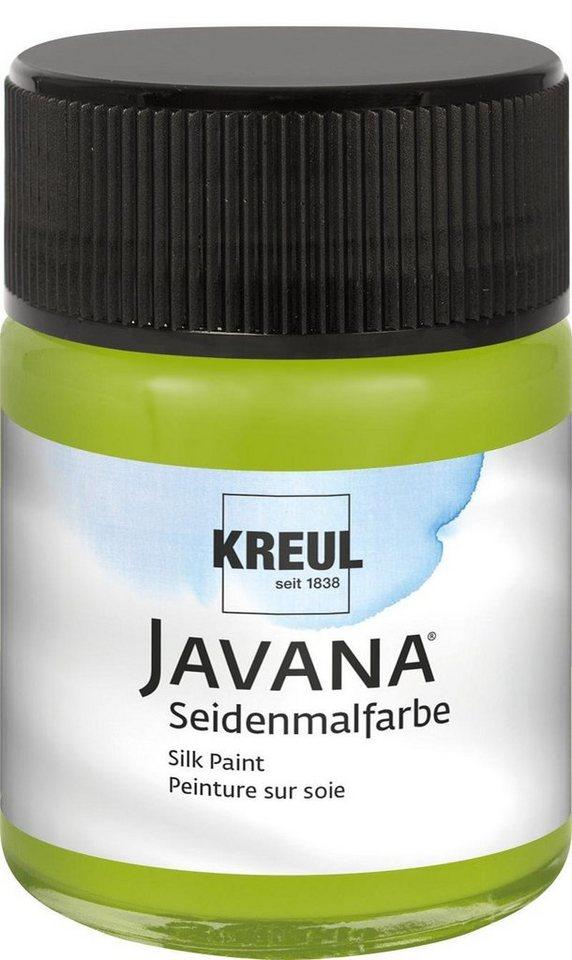 JAVANA Seidenmalfarbe, 50 ml in maigrün