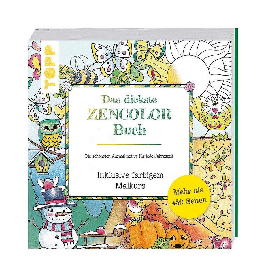 """Topp Buch """"Das dickste Zencolor Buch"""""""