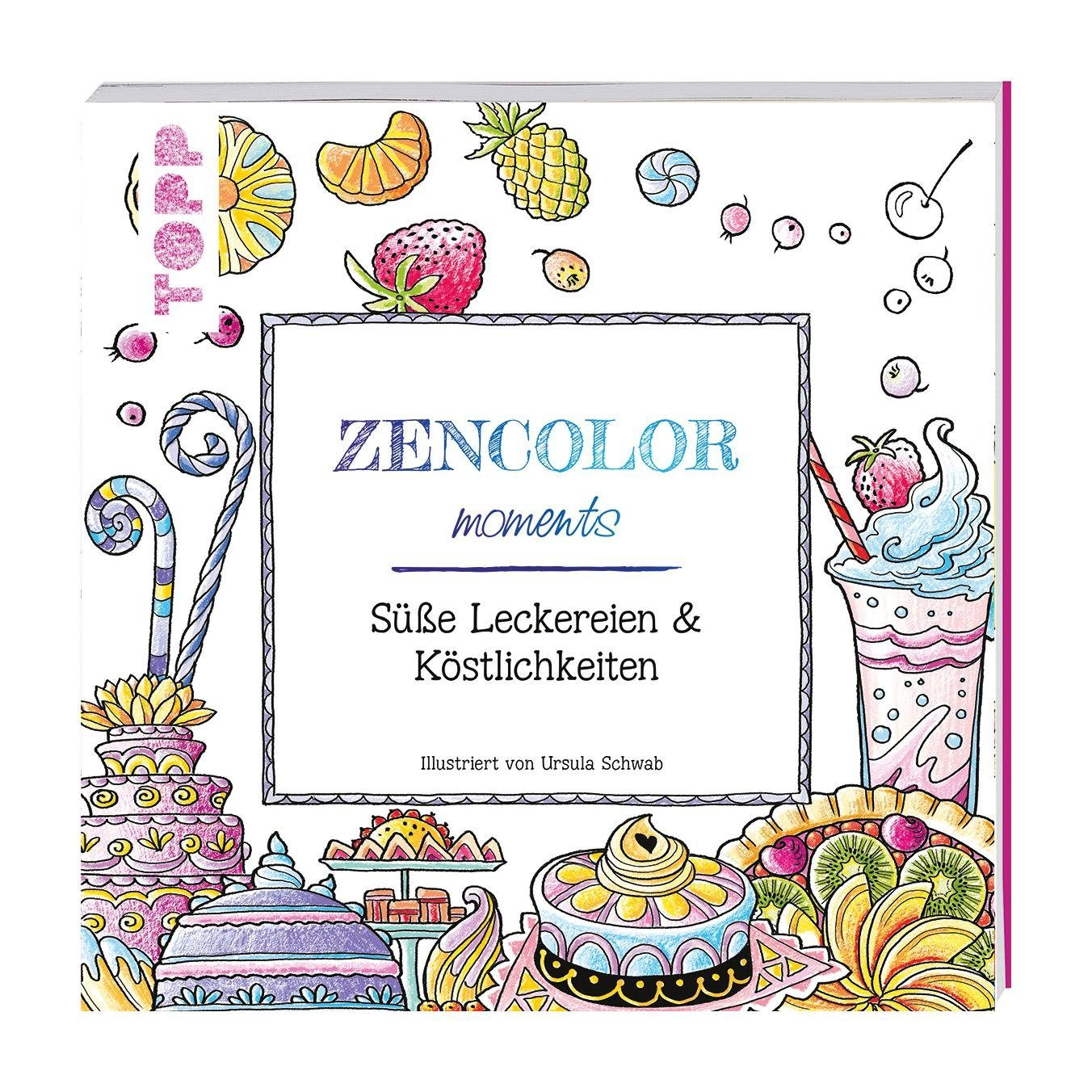 """Topp Buch """"Zencolor moments - Sweets & Candy"""""""