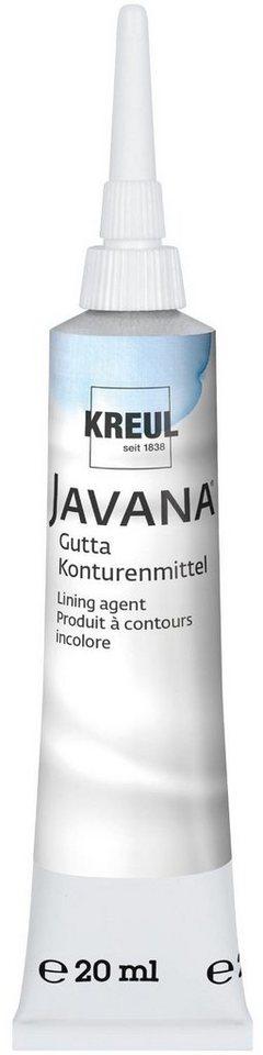 Kreul Javana Gutta, farblos, 20 ml