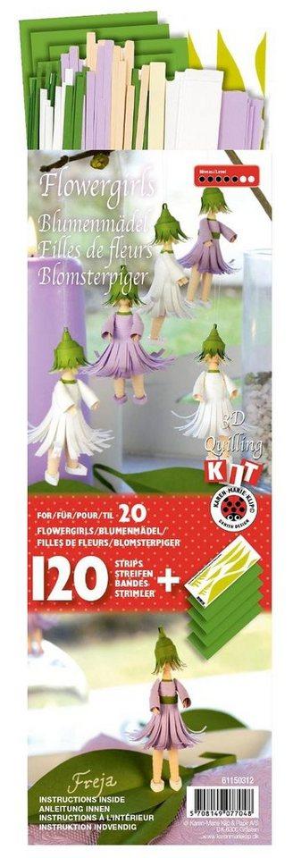 """Karen Marie Quilling-Set """"3D Blumenmädchen"""""""