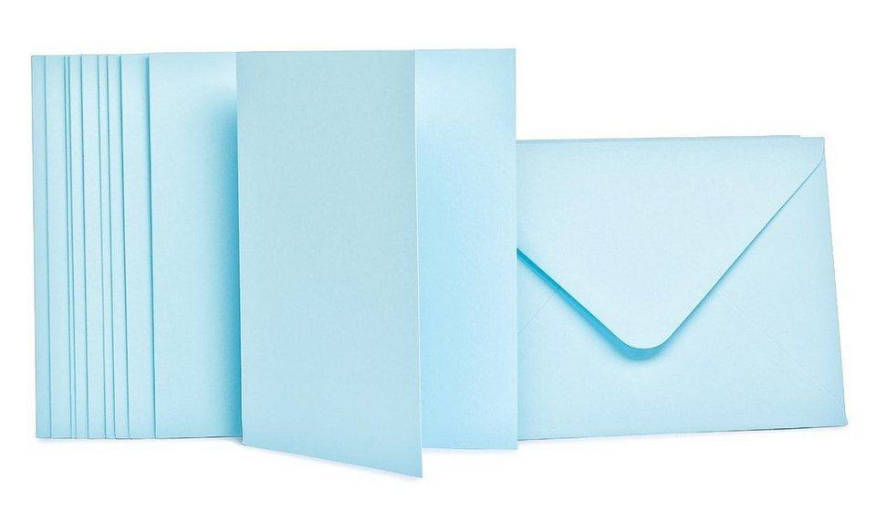 Doppelkarten mit Umschlägen, 10 Stück